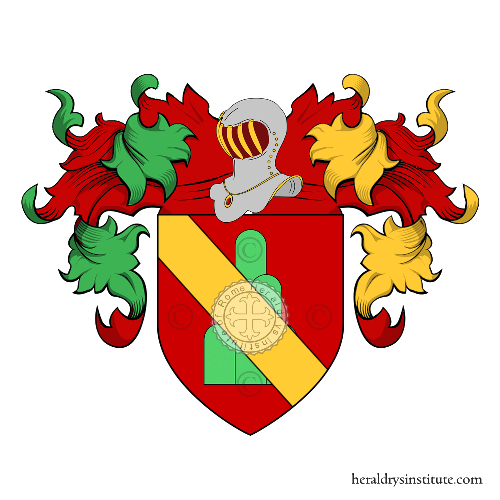 Coat of arms of family Frandi