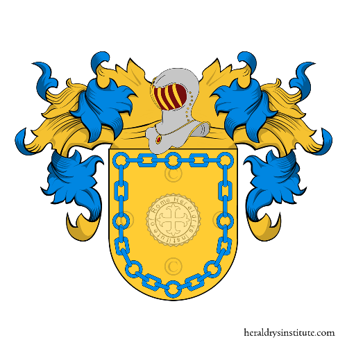 Coat of arms of family Canudo