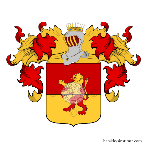 Coat of arms of family Candiano