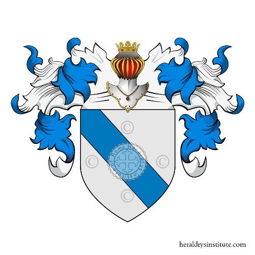 Coat of arms of family Sanudo