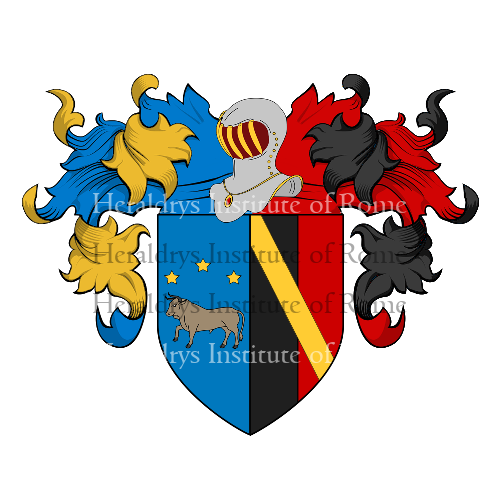 Coat of Arms of family Bollini Marchisio