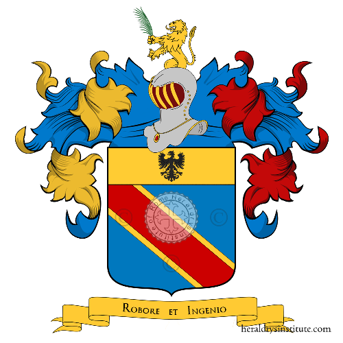 Coat of Arms of family Zavatteri