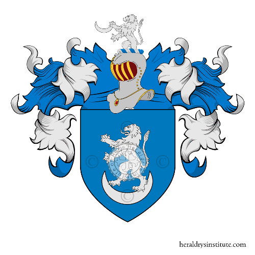 Coat of arms of family Demon