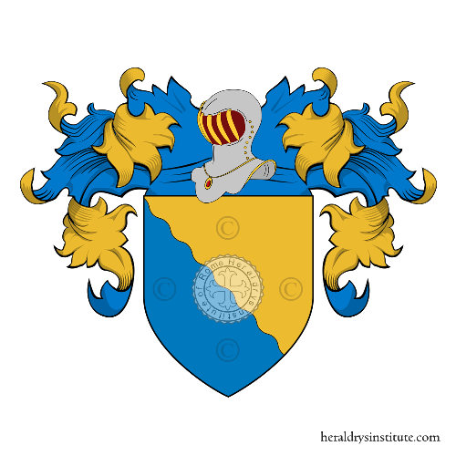 Coat of Arms of family dalla Moneta