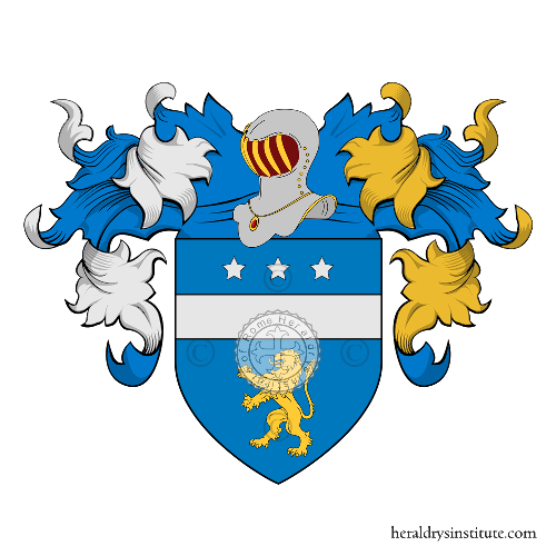 Coat of arms of family de Sonis