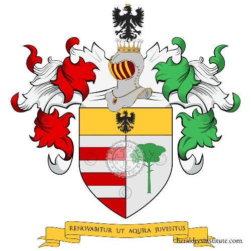 Coat of Arms of family Gianotti
