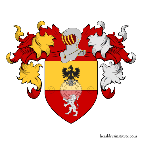 Coat of arms of family Suardi