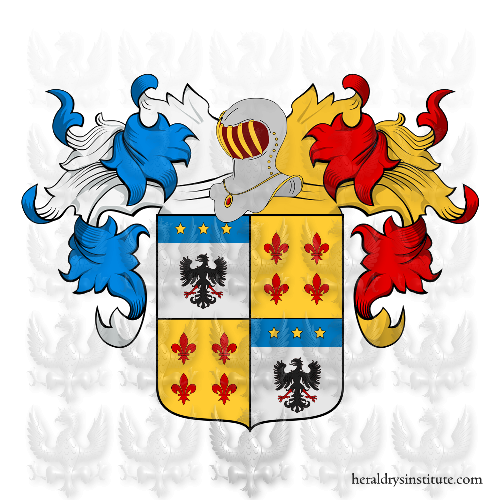 Coat of Arms of family Germano
