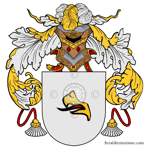 Coat of Arms of family Tesoro