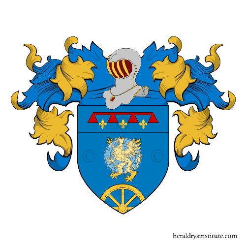 Coat of arms of family Buffoni
