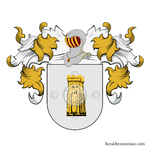 Coat of Arms of family Pacetti