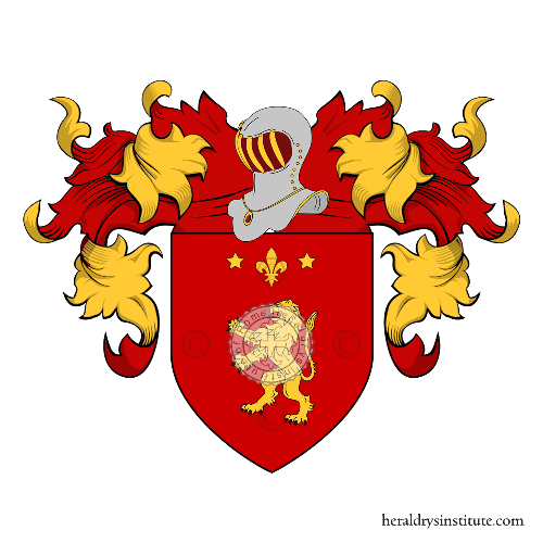 Coat of Arms of family Rivelli