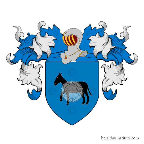 Coat of arms of family Lovari
