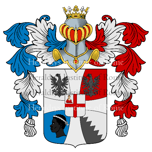Coat of arms of family Zanelli
