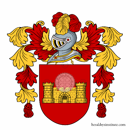 Coat of Arms of family Carullo