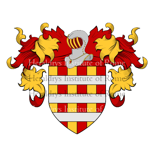 Coat of Arms of family Gabrieli di Augubio