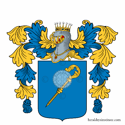 Coat of Arms of family Anastasi