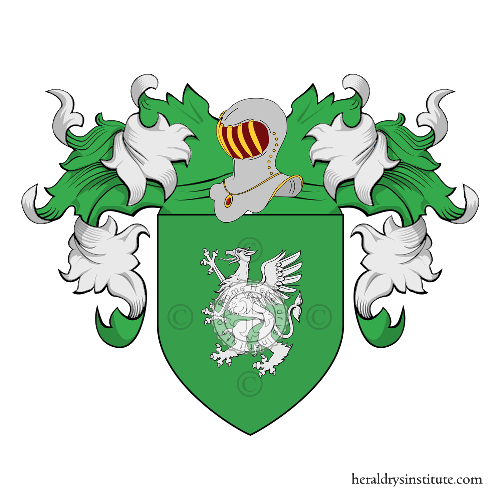 Coat of arms of family Bressiani