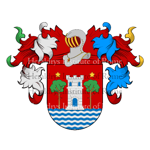 Coat of Arms of family Camacho