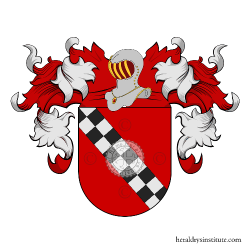 Coat of arms of family Luquìn