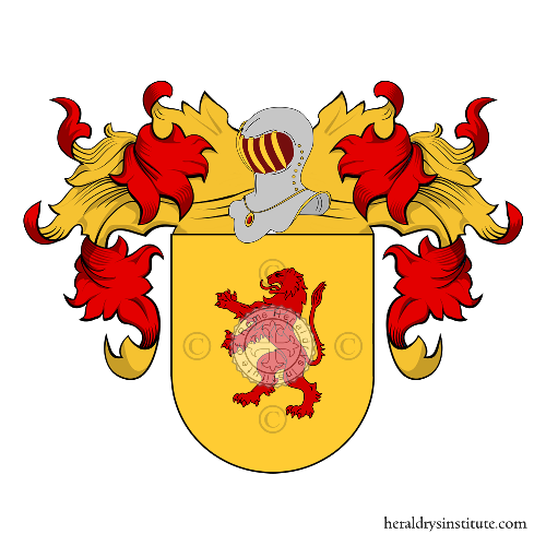 Coat of arms of family Piscopo