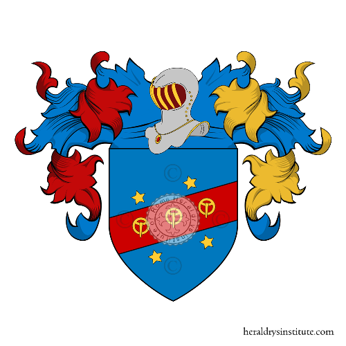 Coat of Arms of family Fibia