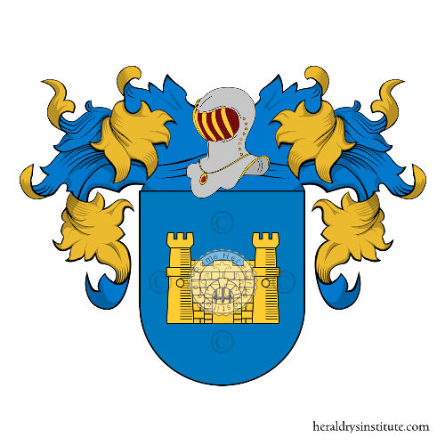 Coat of Arms of family Marré