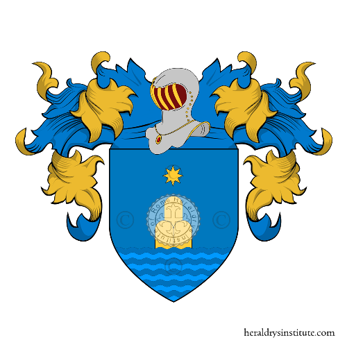 Coat of Arms of family del Ricco