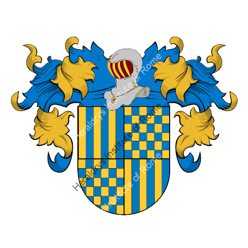 Coat of arms of family Preto