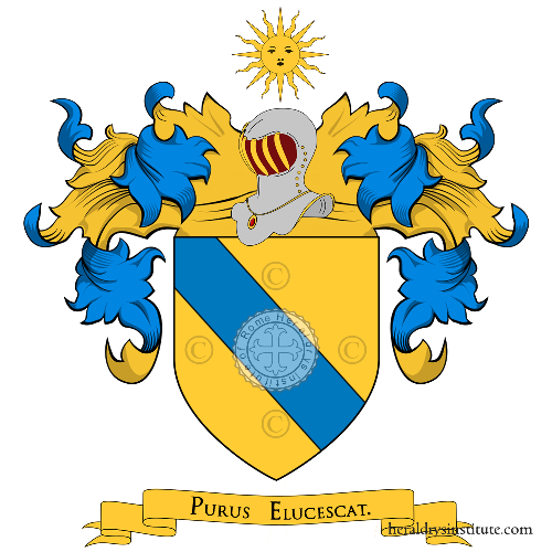Coat of arms of family Pascale