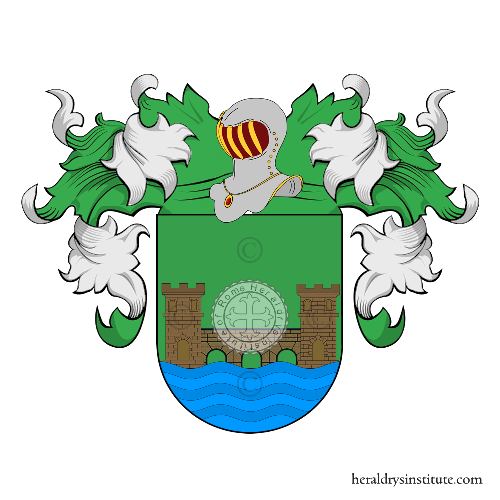 Coat of arms of family Cinto