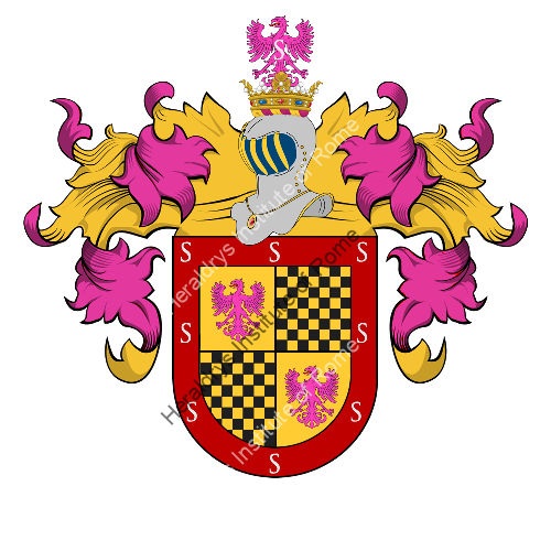 Coat of arms of family Sampaio