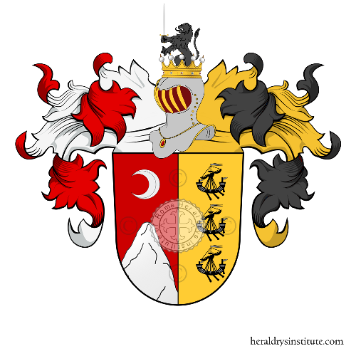 Coat of Arms of family Buchta
