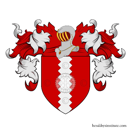 Coat of Arms of family de Paulo