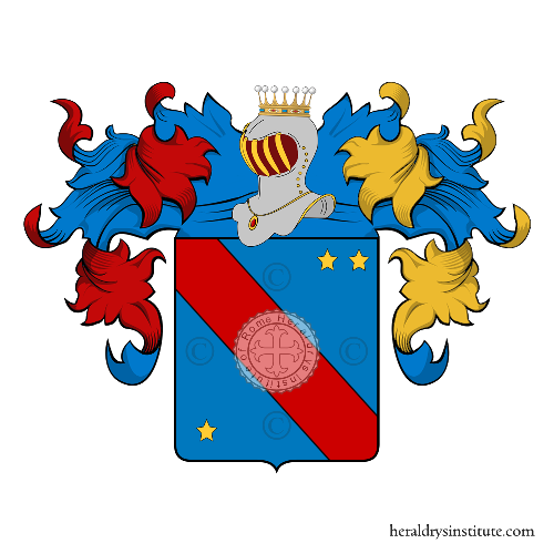 Coat of arms of family Zumbo