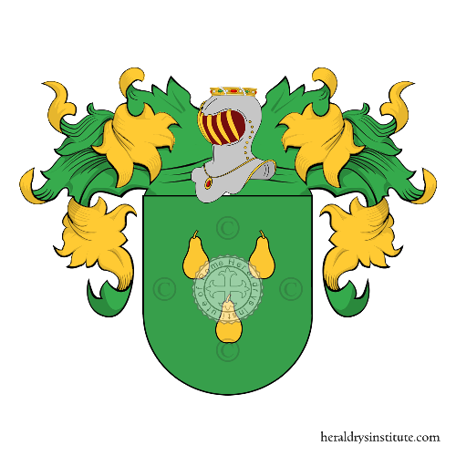 Coat of arms of family Fraile