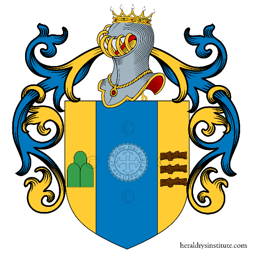 Coat of Arms of family Montagnes