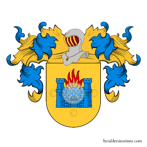 Coat of Arms of family Molina
