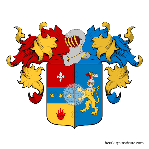 Coat of Arms of family Pandolfi Alberici