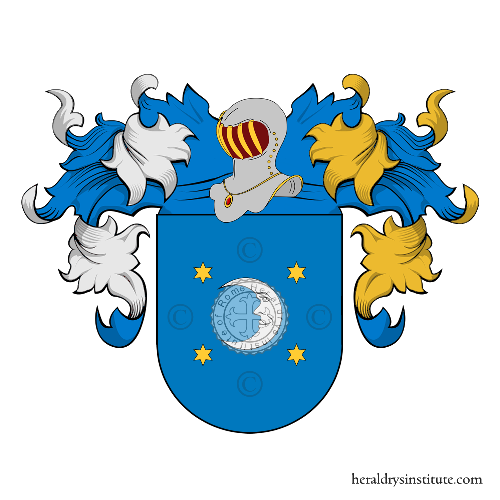 Coat of arms of family Trucharte