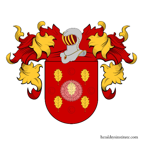 Coat of Arms of family Rozo