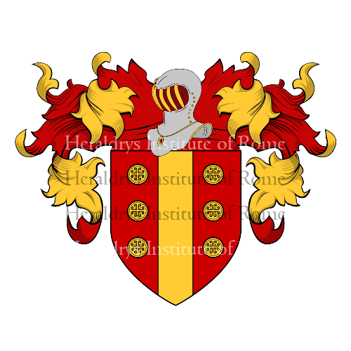 Coat of Arms of family Pompeo
