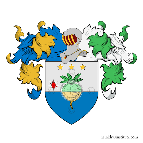 Coat of Arms of family Raveria