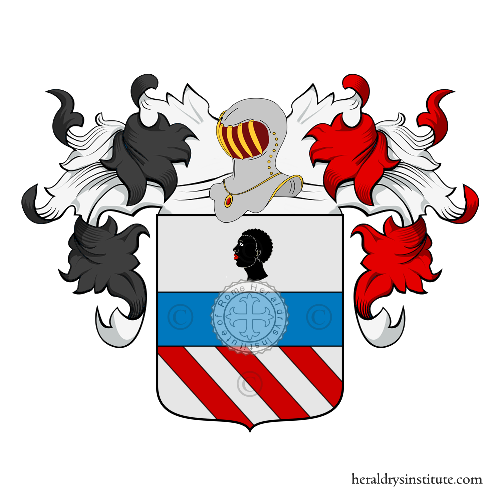 Coat of arms of family Caira