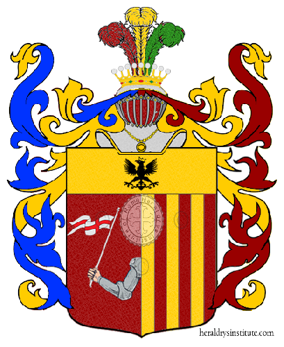 Coat of Arms of family Pariso