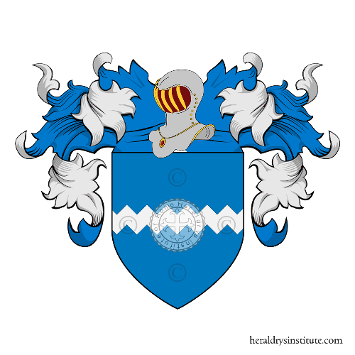 Coat of Arms of family da Campiglia