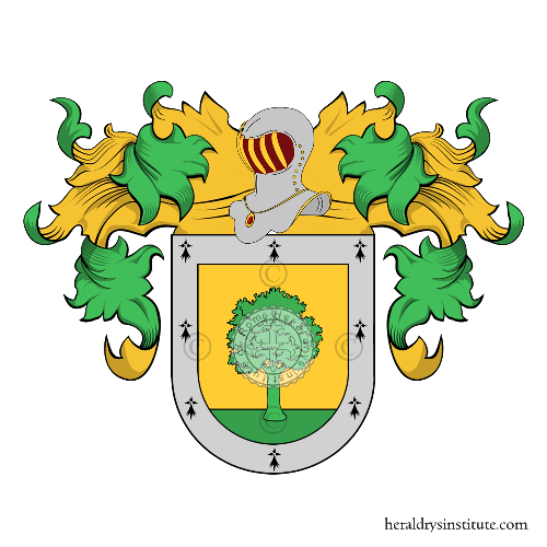 Coat of arms of family Moragas