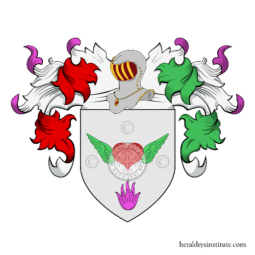 Coat of Arms of family Arigò