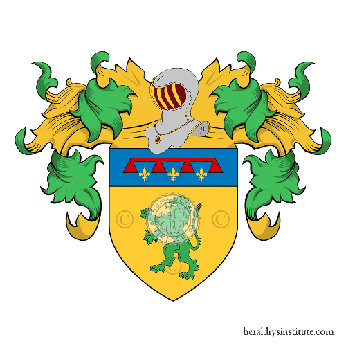 Coat of arms of family Sabbadini