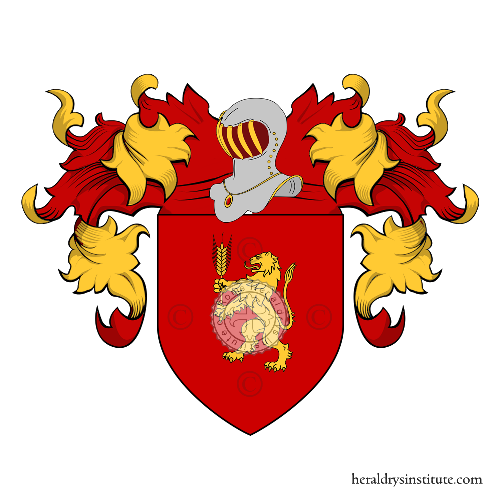 Coat of Arms of family Giacuzzi